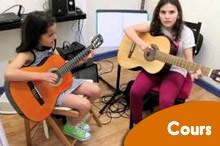 Cours de guitare en collectif