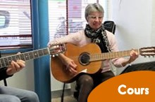 Cours guitare individuel